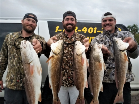 Redfish Guided Trip